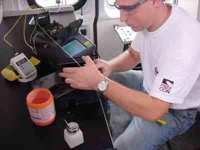 Fiber U Lesson Plan Basic Fiber Optic Skills Lab Splicing